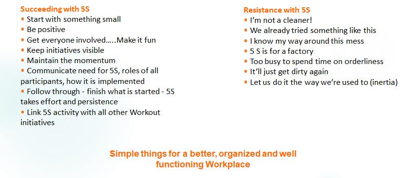5s Workplace Sort Set Shine Standardize Amp Sustain